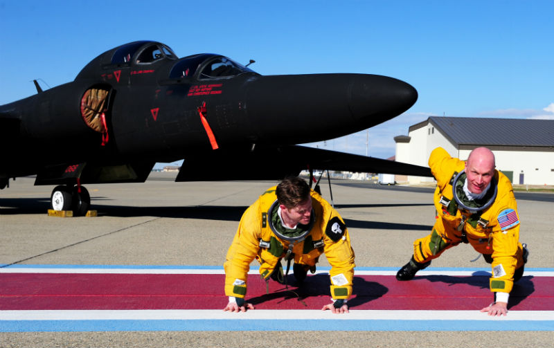 U-2 Dragon Lady Workout