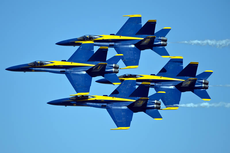 US Navy Blue Angels Diamond