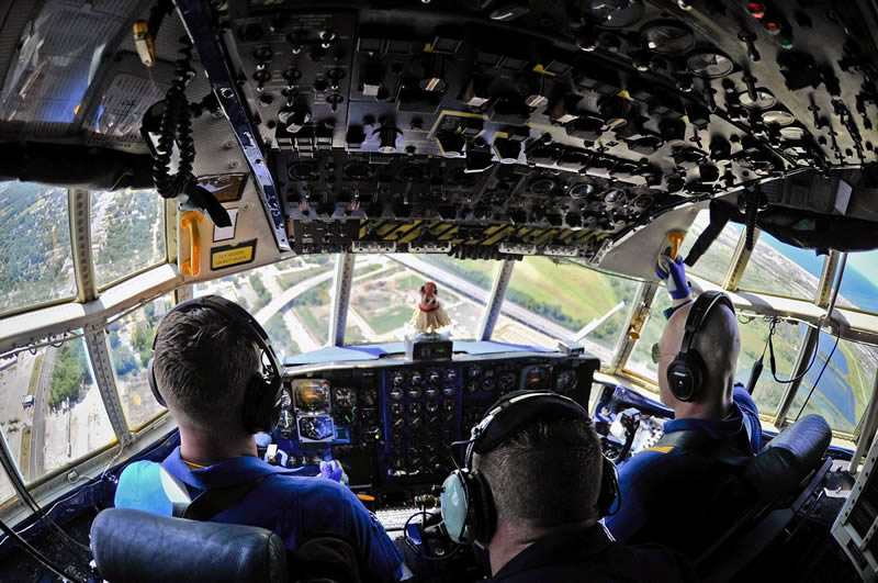 Fat Albert Cockpit
